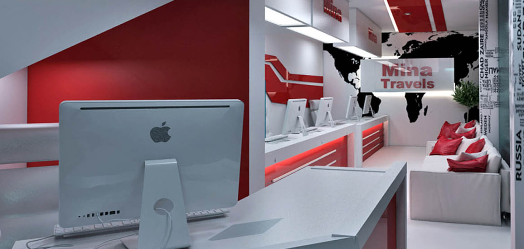Interior designing of office projects